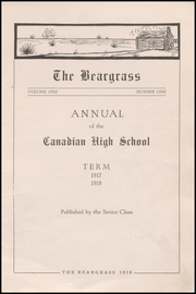 Page 5, 1918 Edition, Canadian High School - Beargrass Yearbook (Canadian, TX) online yearbook collection