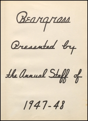 Page 5, 1948 Edition, Canadian High School - Beargrass Yearbook (Canadian, TX) online yearbook collection