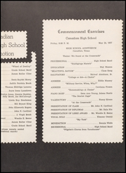 Page 3, 1957 Edition, Canadian High School - Beargrass Yearbook (Canadian, TX) online yearbook collection
