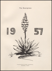 Page 5, 1957 Edition, Canadian High School - Beargrass Yearbook (Canadian, TX) online yearbook collection