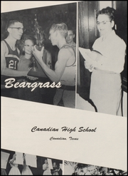 Page 7, 1960 Edition, Canadian High School - Beargrass Yearbook (Canadian, TX) online yearbook collection
