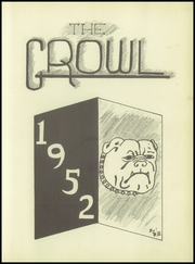 Page 7, 1952 Edition, Cooper High School - Growl Yearbook (Cooper, TX) online yearbook collection