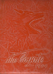 1954 Edition, Adams High School - Coyote Yearbook (Alice, TX)