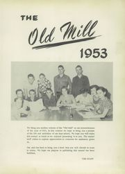 Page 7, 1953 Edition, Clifton High School - Old Mill Yearbook (Clifton, TX) online yearbook collection