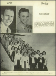 Page 14, 1955 Edition, St Gerard Catholic High School - Majellan Yearbook (San Antonio, TX) online yearbook collection