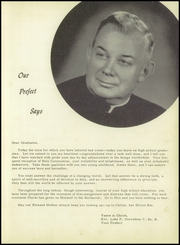 Page 9, 1955 Edition, St Gerard Catholic High School - Majellan Yearbook (San Antonio, TX) online yearbook collection