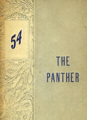 1954 Edition, Van Alstyne High School - Panther Yearbook (Van Alstyne, TX)