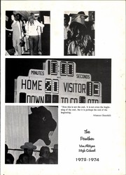 Page 5, 1974 Edition, Van Alstyne High School - Panther Yearbook (Van Alstyne, TX) online yearbook collection