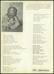 Page 124, 1956 Edition, Ozona High School - Lion Yearbook (Ozona, TX) online yearbook collection