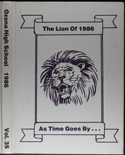 Ozona High School - Lion Yearbook (Ozona, TX) online yearbook collection, 1986 Edition, Page 1