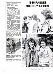 Page 6, 1986 Edition, Ozona High School - Lion Yearbook (Ozona, TX) online yearbook collection
