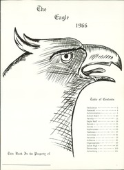 Page 5, 1966 Edition, Holliday High School - Eagle Yearbook (Holliday, TX) online yearbook collection