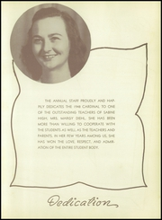 Page 9, 1948 Edition, Sabine High School - Cardinal Yearbook (Gladewater, TX) online yearbook collection