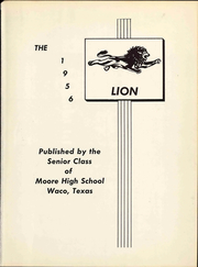 Page 7, 1956 Edition, Moore High School - Lion Yearbook (Waco, TX) online yearbook collection