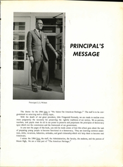 Page 17, 1964 Edition, Moore High School - Lion Yearbook (Waco, TX) online yearbook collection