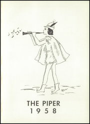Page 5, 1958 Edition, Hamlin High School - Piper Yearbook (Hamlin, TX) online yearbook collection