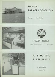 Page 108, 1960 Edition, Hamlin High School - Piper Yearbook (Hamlin, TX) online yearbook collection