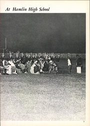 Page 13, 1976 Edition, Hamlin High School - Piper Yearbook (Hamlin, TX) online yearbook collection