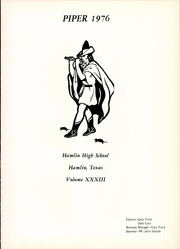 Page 5, 1976 Edition, Hamlin High School - Piper Yearbook (Hamlin, TX) online yearbook collection