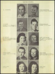 Page 14, 1948 Edition, Anson High School - Tiger Yearbook (Anson, TX) online yearbook collection