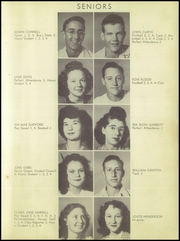 Page 15, 1948 Edition, Anson High School - Tiger Yearbook (Anson, TX) online yearbook collection