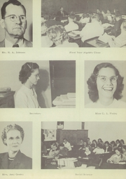 Page 15, 1950 Edition, Anson High School - Tiger Yearbook (Anson, TX) online yearbook collection