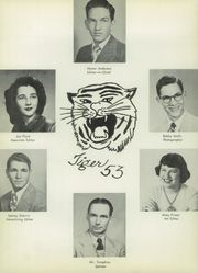 Page 10, 1953 Edition, Anson High School - Tiger Yearbook (Anson, TX) online yearbook collection