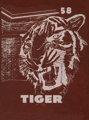 Page 1, 1958 Edition, Troup High School - Tiger Yearbook (Troup, TX) online yearbook collection
