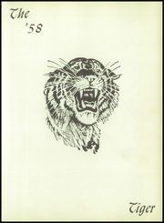 Page 5, 1958 Edition, Troup High School - Tiger Yearbook (Troup, TX) online yearbook collection