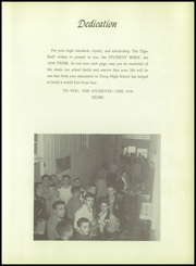 Page 7, 1958 Edition, Troup High School - Tiger Yearbook (Troup, TX) online yearbook collection