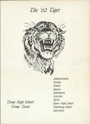 Page 5, 1962 Edition, Troup High School - Tiger Yearbook (Troup, TX) online yearbook collection