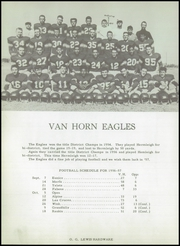 Page 10, 1957 Edition, Van Horn High School - Eagle Yearbook (Van Horn, TX) online yearbook collection