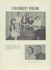 Page 11, 1952 Edition, Hamilton High School - Pioneer Yearbook (Hamilton, TX) online yearbook collection