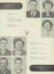 Page 13, 1952 Edition, Hamilton High School - Pioneer Yearbook (Hamilton, TX) online yearbook collection