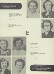 Page 15, 1952 Edition, Hamilton High School - Pioneer Yearbook (Hamilton, TX) online yearbook collection