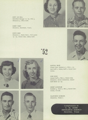Page 17, 1952 Edition, Hamilton High School - Pioneer Yearbook (Hamilton, TX) online yearbook collection