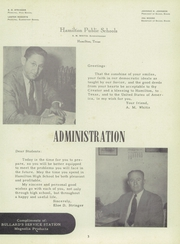 Page 7, 1952 Edition, Hamilton High School - Pioneer Yearbook (Hamilton, TX) online yearbook collection