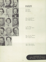 Page 8, 1952 Edition, Hamilton High School - Pioneer Yearbook (Hamilton, TX) online yearbook collection
