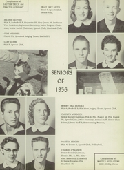 Page 17, 1956 Edition, Hamilton High School - Pioneer Yearbook (Hamilton, TX) online yearbook collection