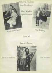 Page 14, 1956 Edition, McCamey High School - Badger Yearbook (McCamey, TX) online yearbook collection