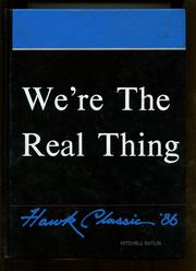 1986 Edition, Hawkins High School - Hawk Classic Yearbook (Hawkins, TX)