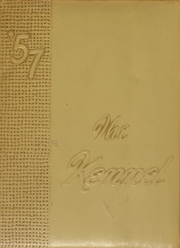 1957 Edition, Tahoka High School - Kennel Yearbook (Tahoka, TX)