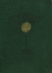 Page 1, 1929 Edition, Ranger High School - Bulldog Yearbook (Ranger, TX) online yearbook collection