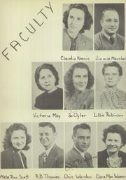 Page 12, 1947 Edition, Ranger High School - Bulldog Yearbook (Ranger, TX) online yearbook collection