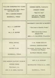 Page 16, 1950 Edition, Elysian Fields High School - Jacket Yearbook (Elysian Fields, TX) online yearbook collection