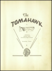 Page 7, 1949 Edition, Groveton High School - Tomahawk Yearbook (Groveton, TX) online yearbook collection