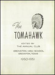 Page 7, 1951 Edition, Groveton High School - Tomahawk Yearbook (Groveton, TX) online yearbook collection
