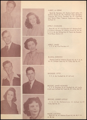 Page 16, 1947 Edition, Hallettsville High School - Brahma Yearbook (Hallettsville, TX) online yearbook collection