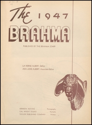Page 7, 1947 Edition, Hallettsville High School - Brahma Yearbook (Hallettsville, TX) online yearbook collection