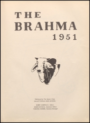 Page 7, 1951 Edition, Hallettsville High School - Brahma Yearbook (Hallettsville, TX) online yearbook collection